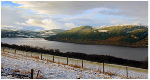 Winter's Playground - Loch Ness