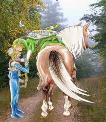 +Zelda YAOI+ Farewell by GalopaWXY