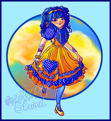 Sunrise Lolita by kellieabomination