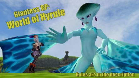 Giantess RP: Zelda by GTS-DM