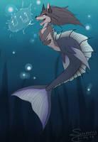 Siren singing |2| |YCH| by Sunny125