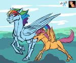 RD and Scoot by Sunny125