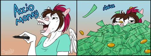 Accio money (see description) by Sunny125