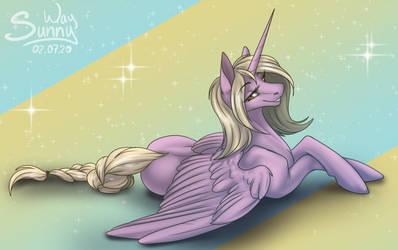 Shiny alicorn