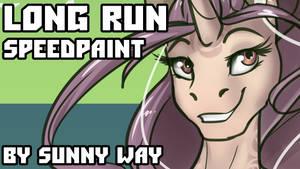 Long Run - Speedpaint