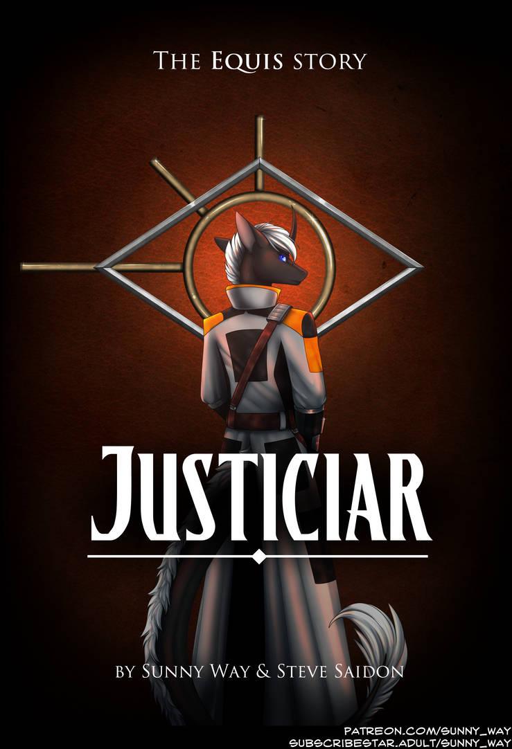 JUSTICIAR  The Cover