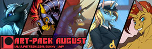Art-Pack August + Exclusive