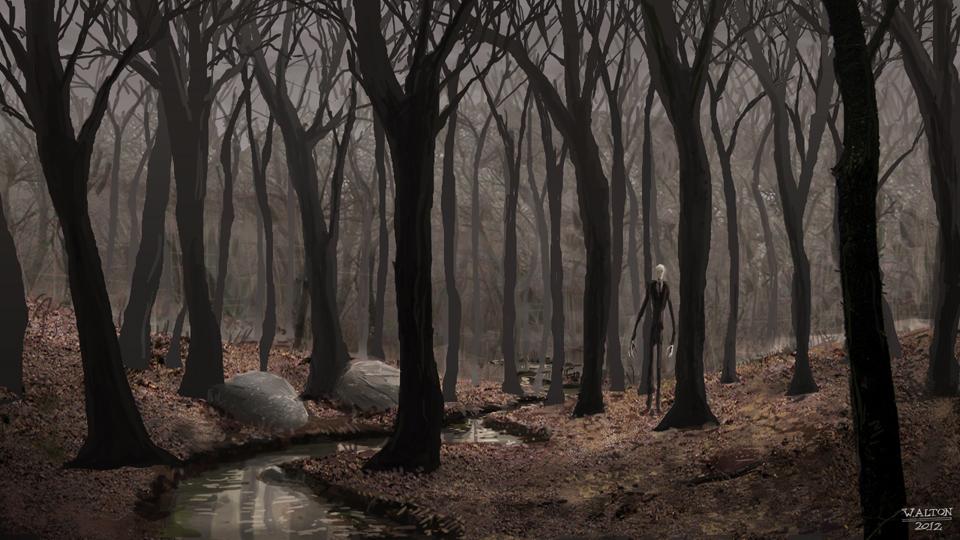 slenderman brook by altondesignstudio