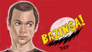 Big Bang Theory Sheldon Bazinga by davidpustansky