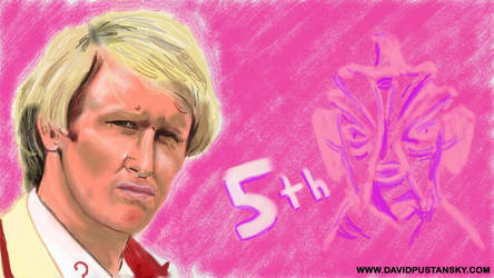 Doctor Who: The Fifth Doctor by davidpustansky