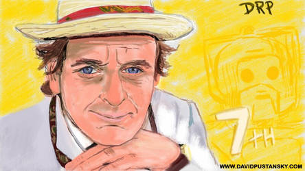 Doctor Who: The Seventh Doctor by davidpustansky