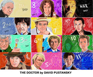 Doctor Who by davidpustansky