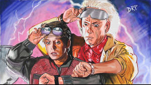 Back To The Future Part Two by davidpustansky