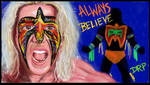 The Ultimate Warrior Will Run Forever