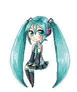 Happy Birthday Miku! - Pixel Version by miSsSasoRi