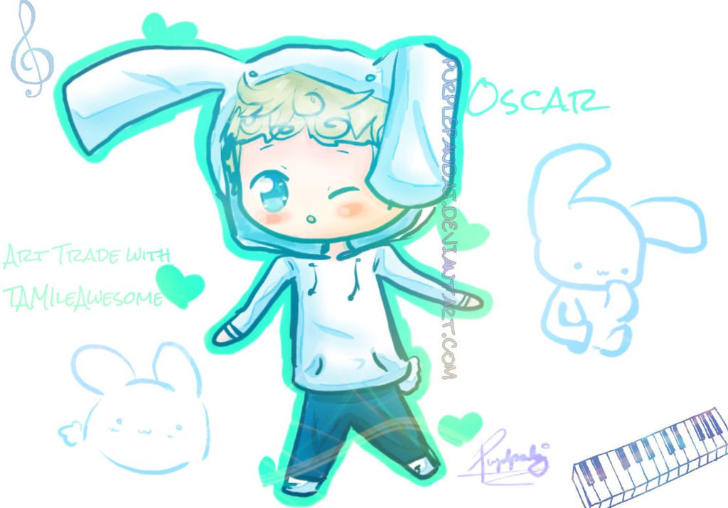 Oscar: Art Trade with TAMIleAwesome