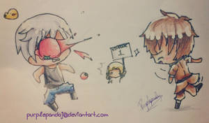{APH Bad Touch Trio} Get whooped by Spain