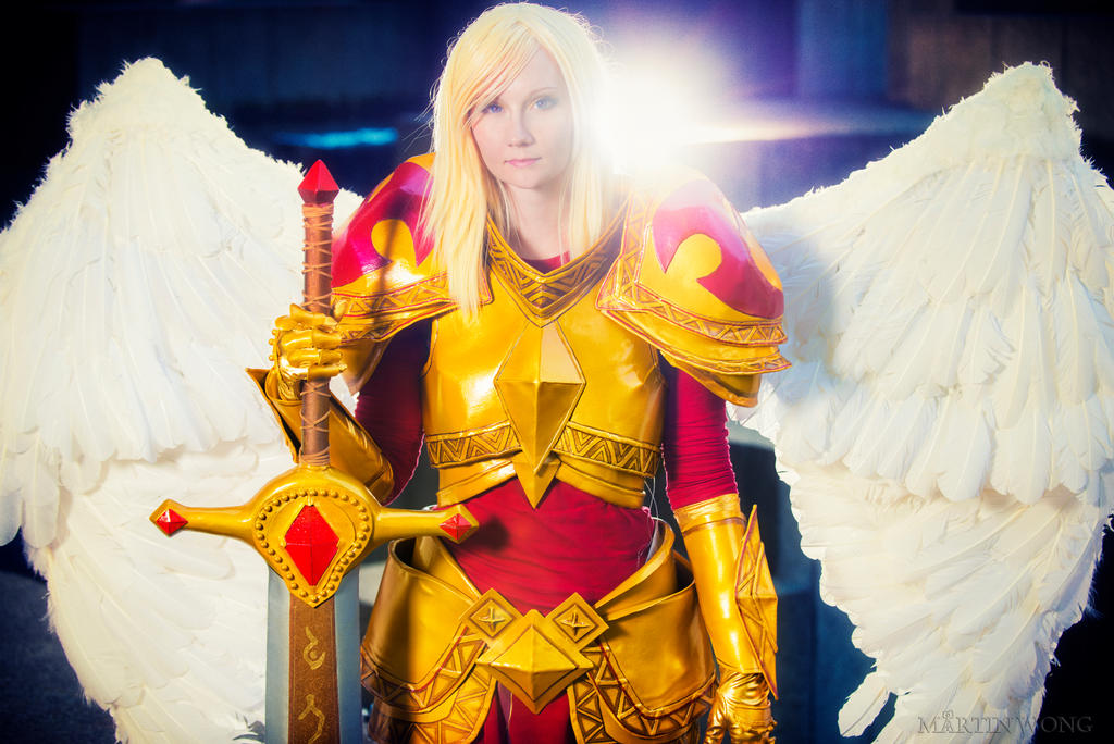 League Of Legends Kayle Cosplay Kayle cosplay: league of