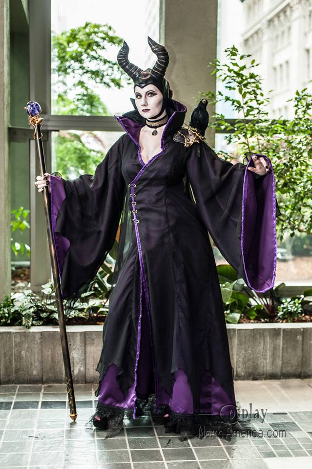 Maleficent Cosplay by vandersnark
