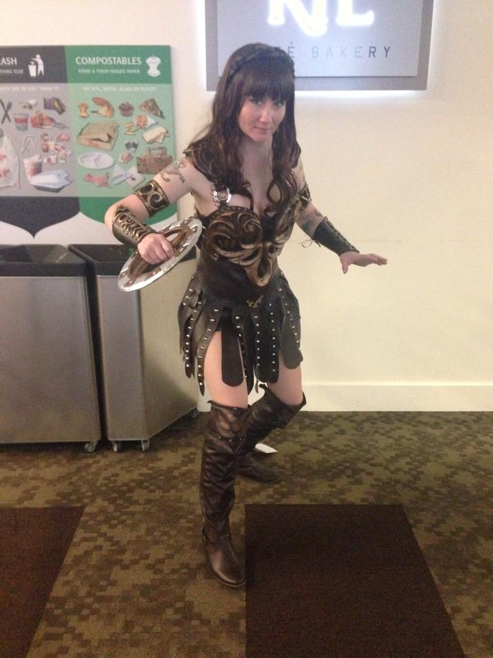 Xena cosplay by vandersnark