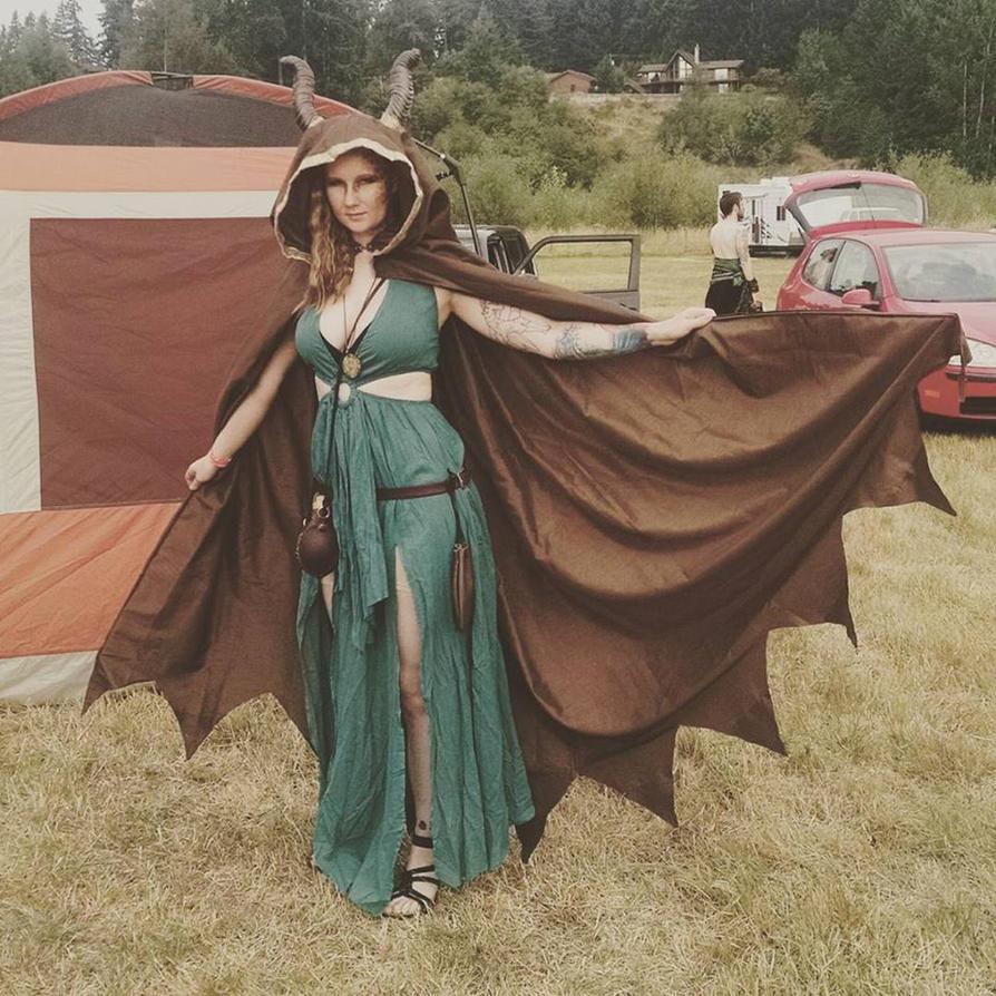 Dragon fantasy costume by vandersnark