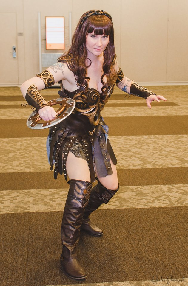 Xena cosplay by vandersnark