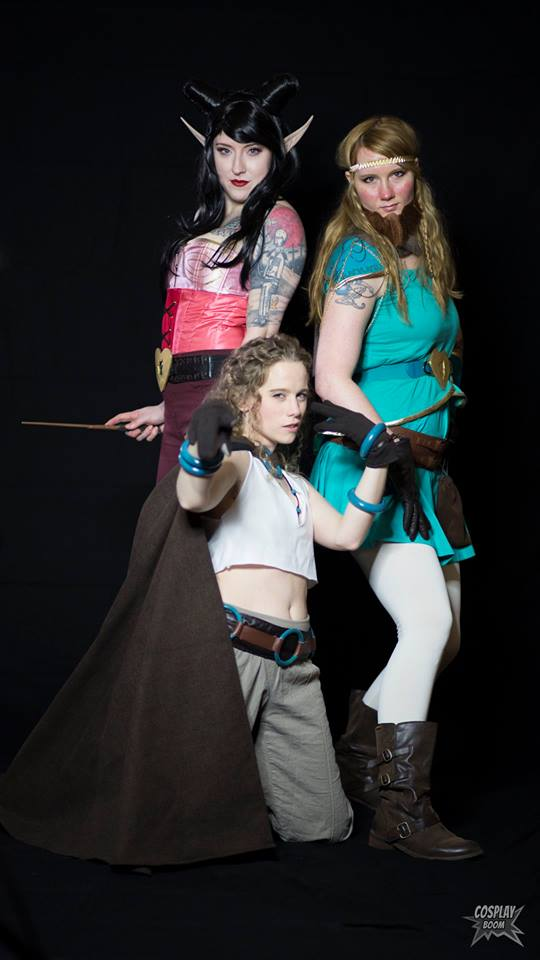 Rat Queens cosplay by vandersnark