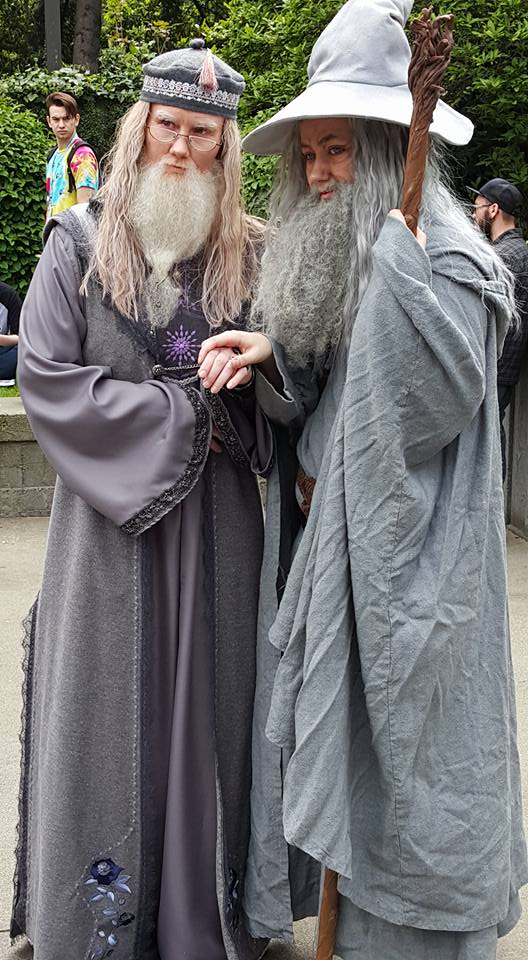 Dumbledore cosplay by vandersnark