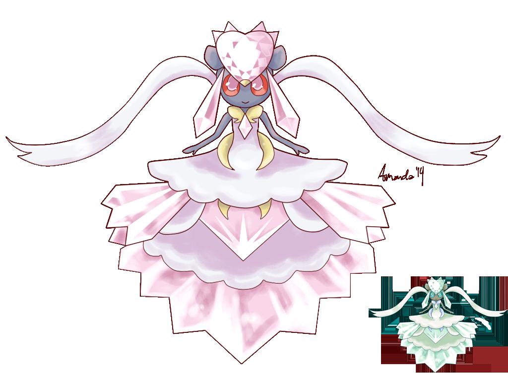 Mega Diancie by FragGrrl