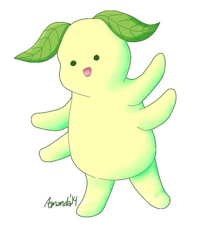 Young Leaf Puppy Spirit by FragGrrl