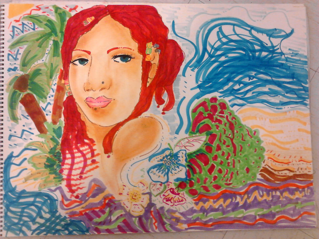 Cherry - Island Goddess by FragGrrl