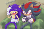 Sonic and Shadow play SA2 by FragGrrl
