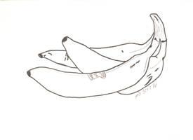 3 October 2016 sketch - Naughty Bananas
