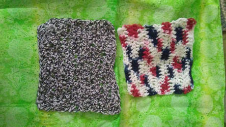 Crochet Washcloths by AsheEltonParker