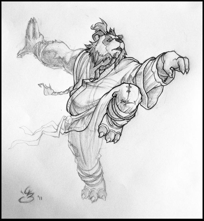 Pandaren Monk by Tokoldi