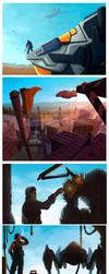 Five Illustrations by Tokoldi