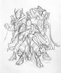 Selendis, Zeratul, and Artanis