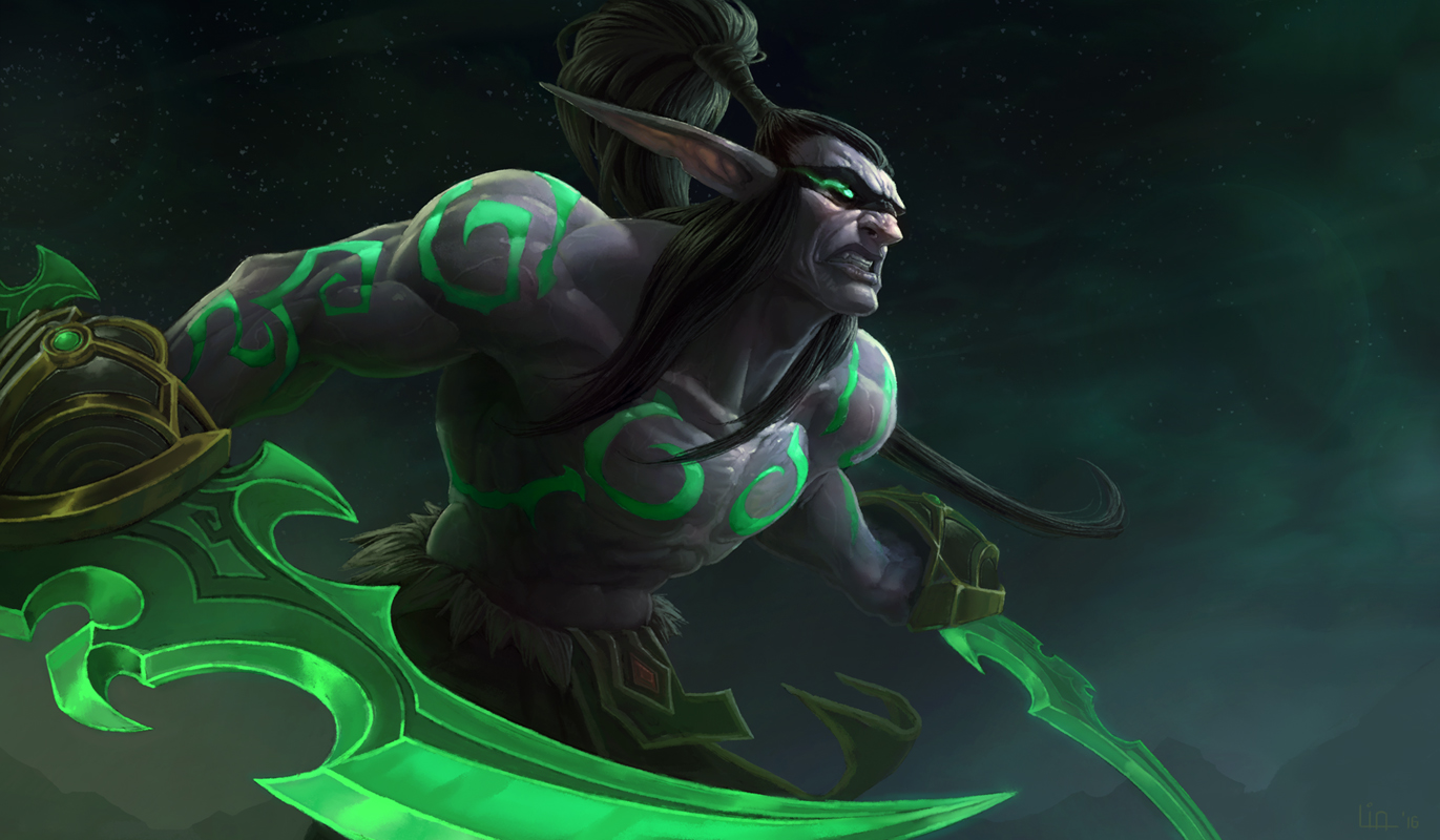 Illidan Stormrage by Tokoldi on DeviantArt