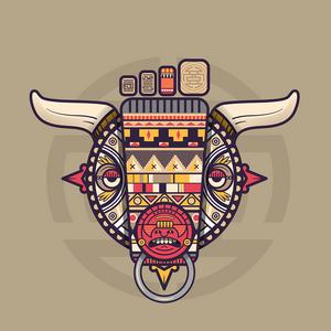 Aztec bull-little foot