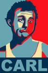 Carl Spackler poster