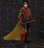 Batman Arkham Origins: Robin by Mike92evil92