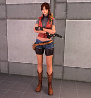 Claire Redfield [Resident Evil 2] by Mike92evil92