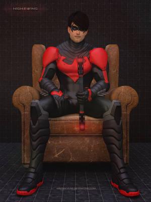 Batman Arkham Knight - Nightwing by Mike92evil92