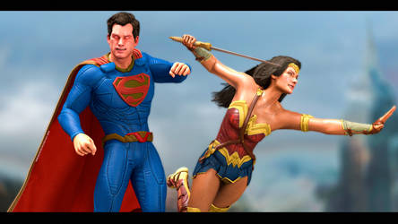 Super Wonder Couple by Mike92evil92