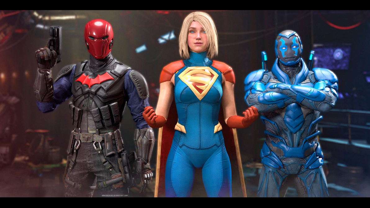 Injustice 2: New League by Mike92evil92