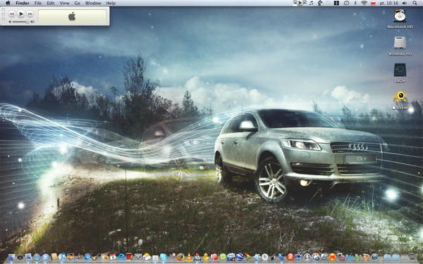 Audi Q7 wallpaper by vinciART