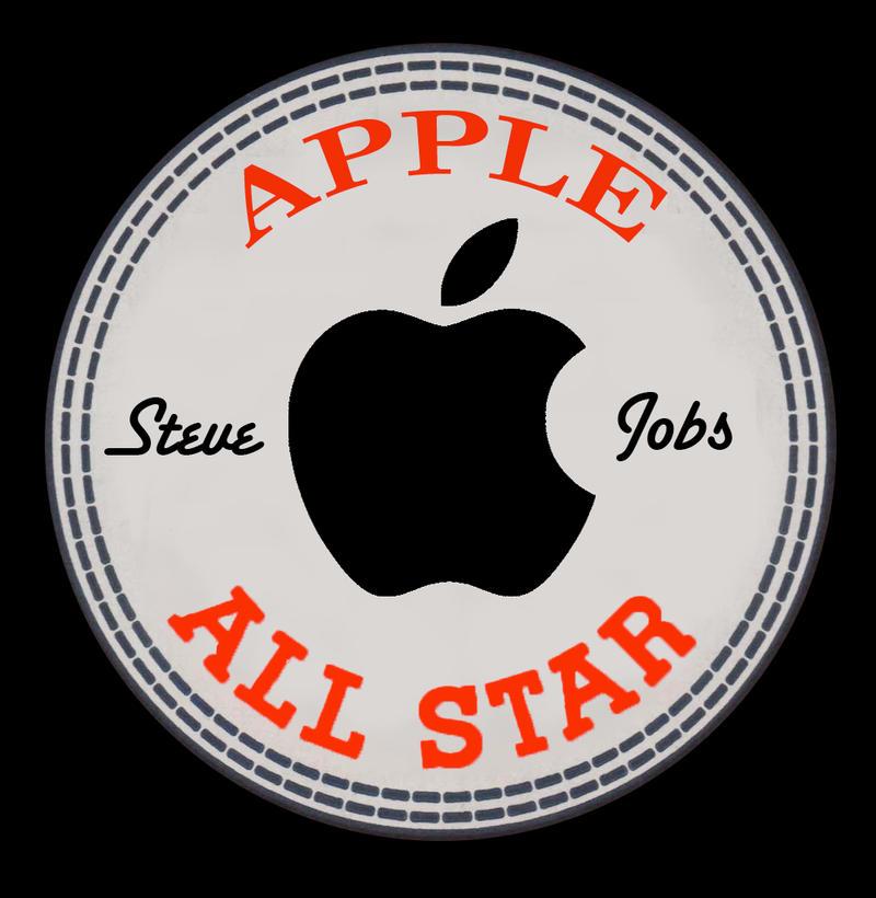 Apple All Star by Steve Jobs by vinciART