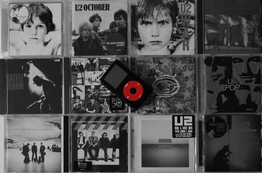 iPod U2 by vinciART