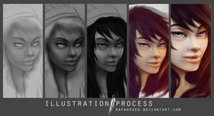 Illustration Process, Morgana