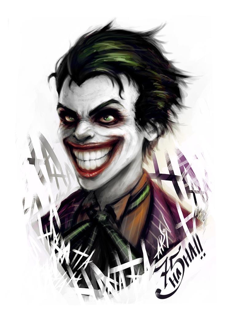 Joker Fan Art 75 Aniversary by rafaarsen on DeviantArt
